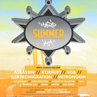 JAHUA - HYBRID SUMMER JAM 13-07.13 PROMOMIX