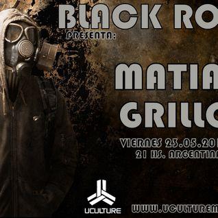 MATIAS GRILLO DJSet / BLACK ROOM 008 - UCULTUREMIX.COM.AR