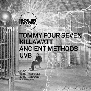 Ancient Methods - Boiler Room Berlin DJ Set (25.02.2015)