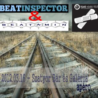 Beat-a-min & Beatinspector @ Szatyor Bár és Galéria - Apéro - (2013. március 16.)
