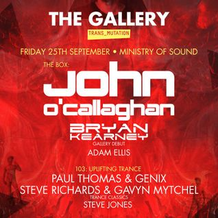 John O'Callaghan - Live @ Ministry of Sound (London) - 25.09.2015