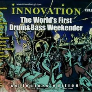 Bryan Gee with IC3, Foxy, & Fatman D at Innovation First DnB Weekender
