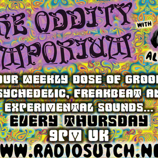 Radio Sutch: The Oddity Emporium 31st October 2013 - Halloween Special