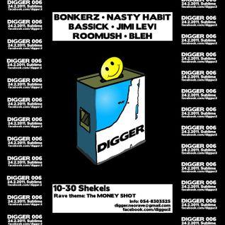 BLEH # DIGGER006 - The Money Shot (Tel Aviv,Israel)