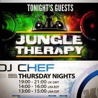 DJ CHEF & JUNGLE THERAPY & UNIVERSAL PROJECT-KOOL LONDON - 05-05-16