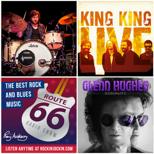 Route 66 Radio Show (25/09/16) King King's drummer Wayne Proctor interview plus new Glenn Hughes