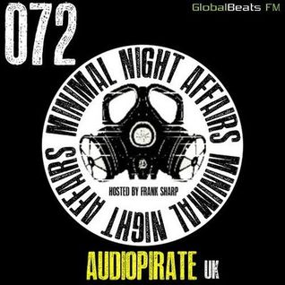 Minimal Night Affaires podacast with audiopirate