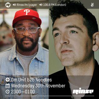 Om Unit b2b Noodles - Hardcore + Jungle vinyl special - Rinse FM