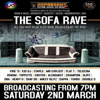 SLIPSTAR b2b CHAMPION with MC So - Low @ Sofa Rave (Futureradio) 02.3.13