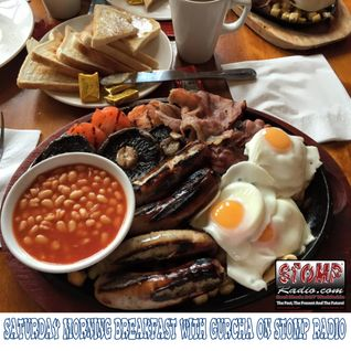 Saturday Morning Breakfast with Gurcha on Stomp Radio 25-4-15