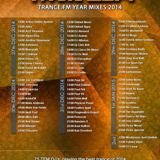 Yearmix 2014 @ Trance.FM (31.12.2014) - Top 20 +