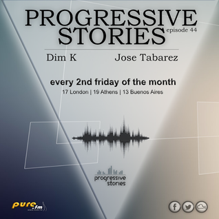 Jose Tabarez - Progressive Stories 044 [Sept 09 2016] on Pure.Fm