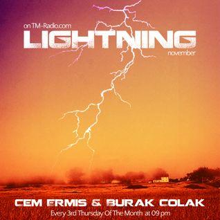 cem ermis & burak colak - Lightning 004 on TM-Radio @ November 2011