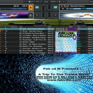 Fab vd M Presents A Trip To The Trance World-The Best Of D.Trance 6 Remixed