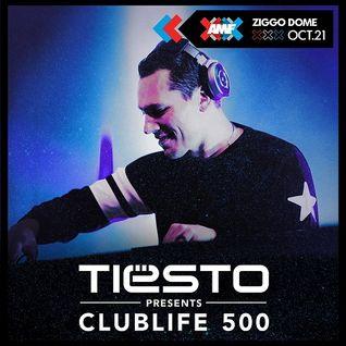 Tiesto - Club Life 500 (Ziggo Dome Amsterdam, Netherlands) - 21.10.2016