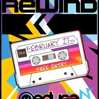 RUDEEBN PRESENTS: Rewind Clubbing For Grown Ups FEB