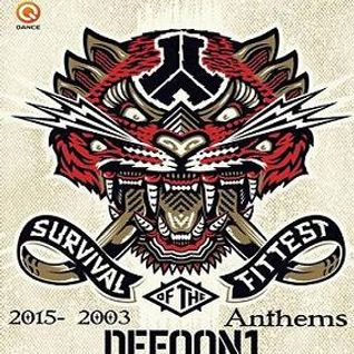 DEFQON.1 ANTHEMS 2015 - 2003 Mixed By DjSky7