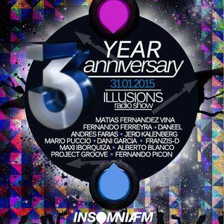Maxi Iborquiza | Illusions 3rd Anniversary | Insomnia FM