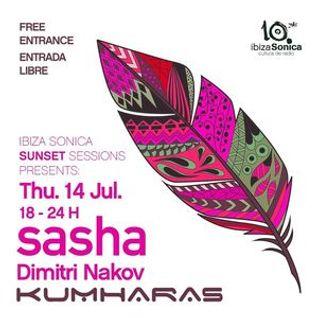 Sasha - Live at Kumharas, Sunset Sessions, Ibiza (14-07-2016)