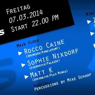 Rocco Caine @ Plus Minus - Uni Kampus Mainz