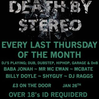 DEATH BY STEREO promo mix - DJ RAGGS LIVE