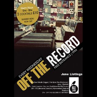 Off The Record - 6th June 2012 - Dave Metcalfe