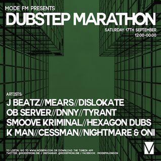 17/09/2016 - Dubstep Marathon [Part 1] - Mode FM (Podcast)