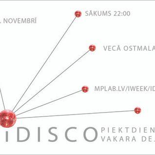 LIVE SET at iDISCO (LIEPAJA)