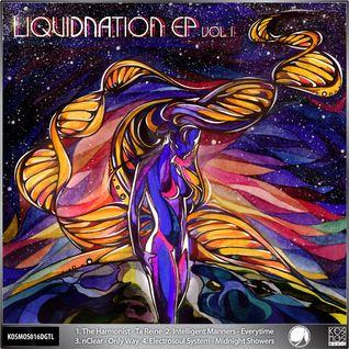 """KOSMOS016DGTL V/A """"LiquiDNAtion EP Vol.l"""" (Preview Mini-mix)"""