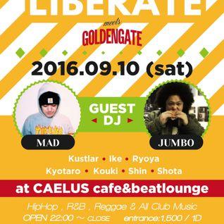 "LIBERATE WEEKLY MIX vol.83""open-up R&B""mixed by DJ IKE"