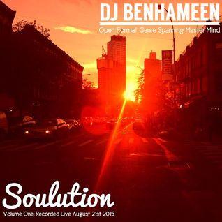 DJ BenHaMeen - Soulution Live Volume One (Open Format Genre Spanning Live Mix)