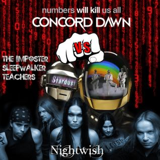 Stardust vs Daft Punk vs Nightwish vs Concord Dawn - Imposter Teachers (Rudec Mashup)