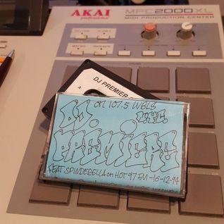 DJ Premier The Vibe on 107.5 WBLS NYC 16.12.1994