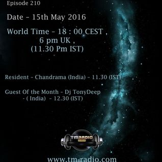 Chandrama - Time Differences 210 (15th May 2016) on TM-Radio