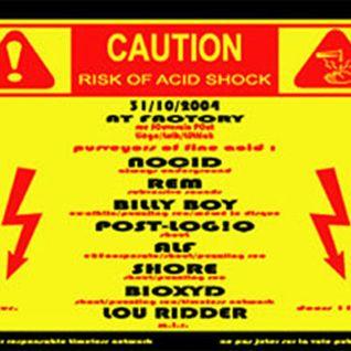 Nocid @ CAUTION ACID - Factory/Liège 2005