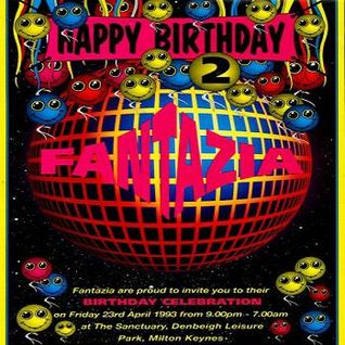 Slipmatt Fantazia '2nd Birthday Celebration' 23rd April 1993