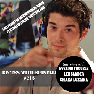 RECESS with SPINELLI #215, LIVE FROM SWITZERLAND, Evelinn Trouble, Len Sander, Chiara Luzzara