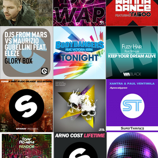 December 2012 Electro House Mix Radio Show (Jeremy Kesseler)