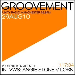 Groovement 29AUG10 // ANGIE STONE and LORN interviews