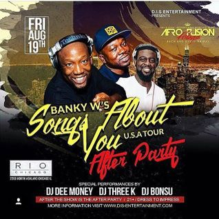 DJ DEE MONEY LIVE SET AT BANKYW AFTER PARTY