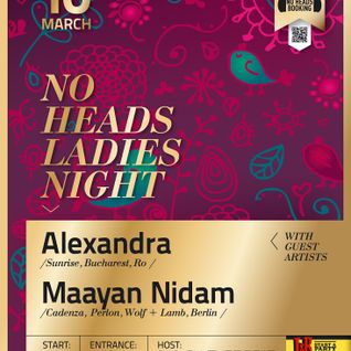 NoHeads Ladies Night with Alexandra & Maayan Nidam @ Culture Beat - 10.03.2012 part2