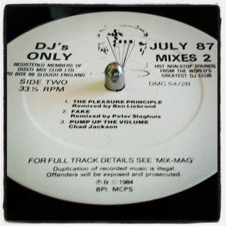 Alexander O Neal - Fake (Peter Slaghuis DMC mix 1987)