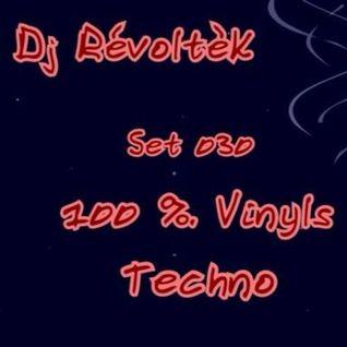 Dj RévoltèK - Set 030 - Only Vinyl