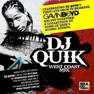 DJ Quik Australian Tour Mixtape (2012)