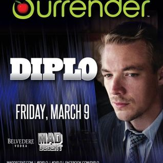 Diplo - Live @ Surrender NightClub (Las Vegas, USA) - 09.03.2012