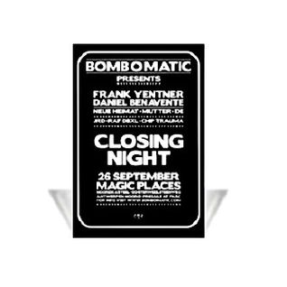F.Yentner & D.Benavente @ Bomb O Matic Closing Night - Magic Places Antwerpen - 26.09.2008 - Part 1