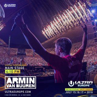 Armin van Buuren - Live @ Ultra Europe 2016 (Split, Croatia) - 16-JUL-2016