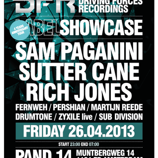 Pershian - Nachtrovers & Storm Present: Driving Forces Label Showcase (Pand 14)