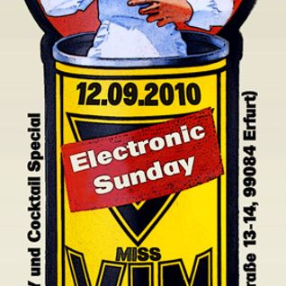 12-09-10 Electronic Sunday mit Miss Vim