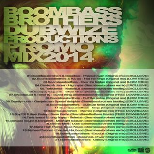 Boombassbrothers - Dubwize Productions Promo Mix  2014